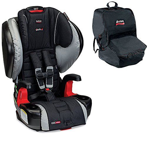 Britax Pinnacle ClickTight Car Seat W Travel Bag Black Manhattan