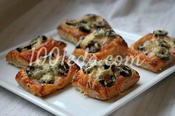 Мгновенные мини пиццы на праздник