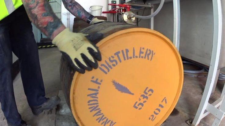 Annandale distillery Scotland