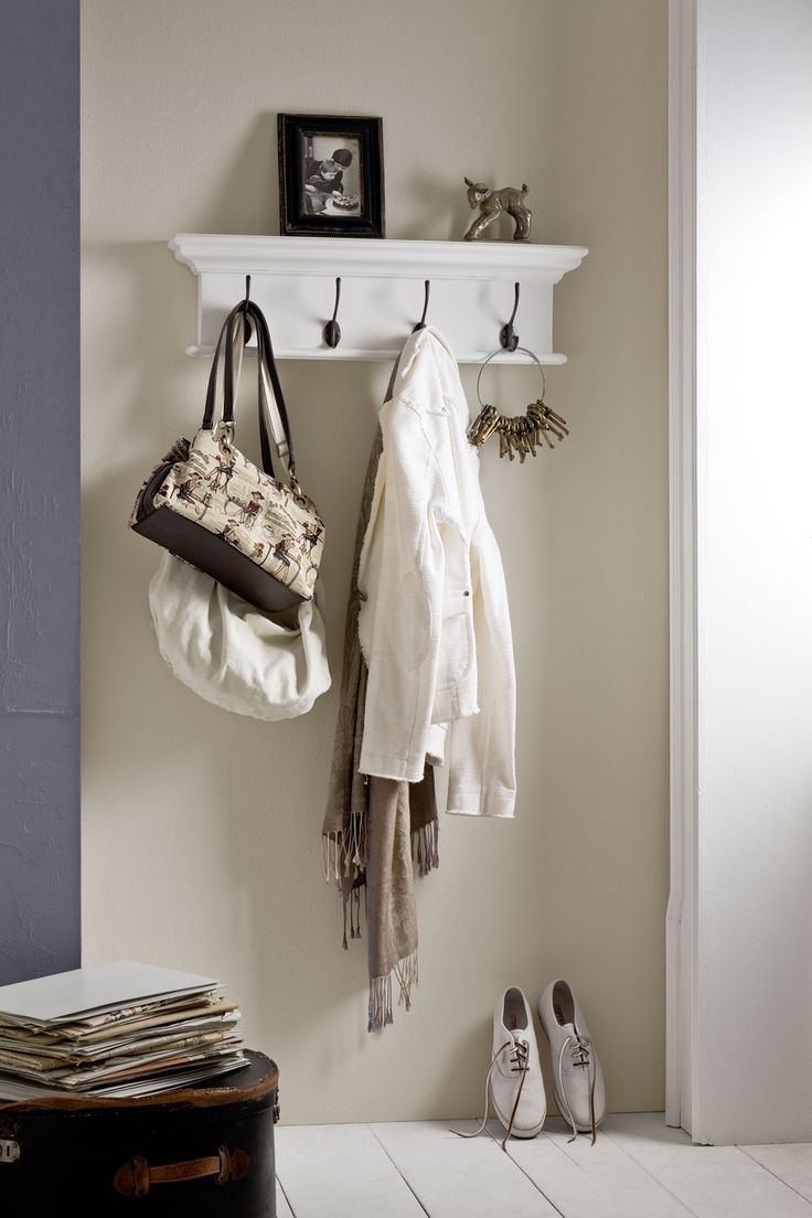 Belgravia Painted 4 Hook Coat Rack