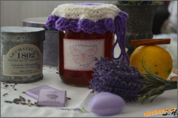 Levandulový med