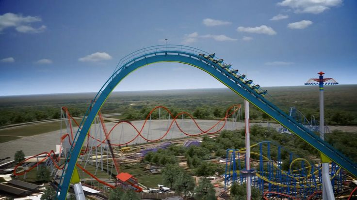 Fury 325 Virtual Ride Worlds Tallest Giga Roller Coaster Carowinds 2015. This is super cool!!! REALLY?  jn