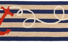 Awesome Nautical Rug Runner