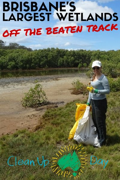 We explored further the Boondall Wetlands by participating in their Clean Up Australia Day event. Read more on my blog.