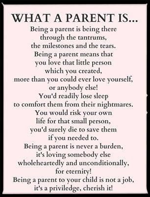 I wish every parent thought this way.