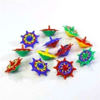 """Star Spin Tops, 2""""  12 ct"""