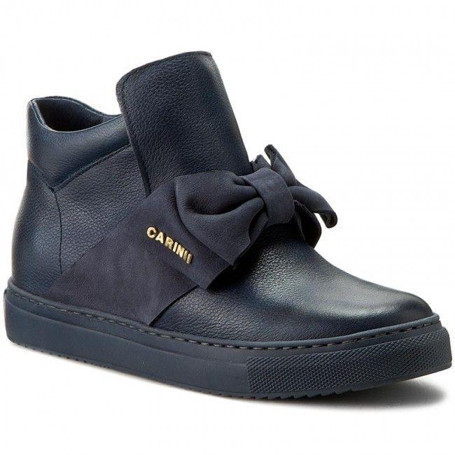 Sneakersy Carinii B3834 I78 I86 000 B67 All Black Sneakers Black Sneaker Sneakers