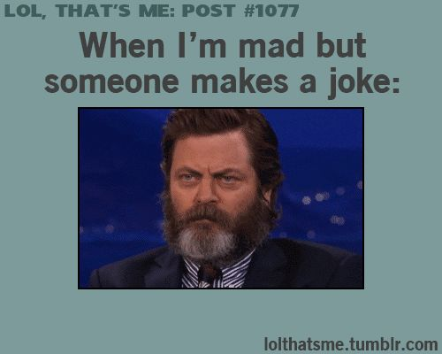 charming life pattern: gif - that's me - quote - when I'm mad but someone...