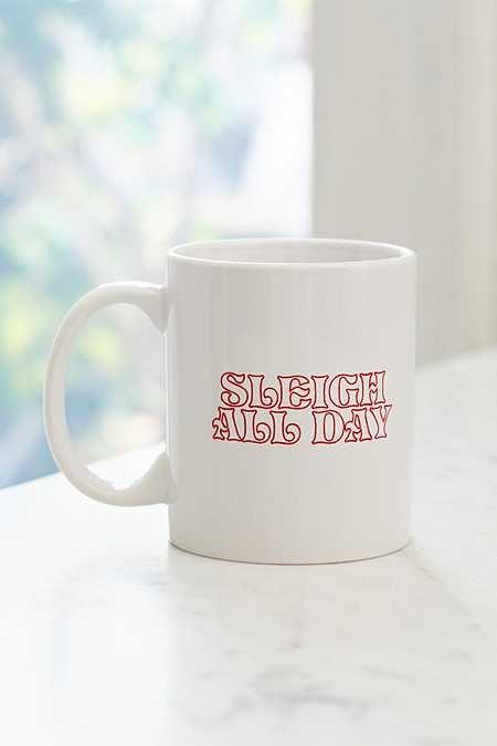 Sleigh All Day Mug | Christmas captions, Instagram ...