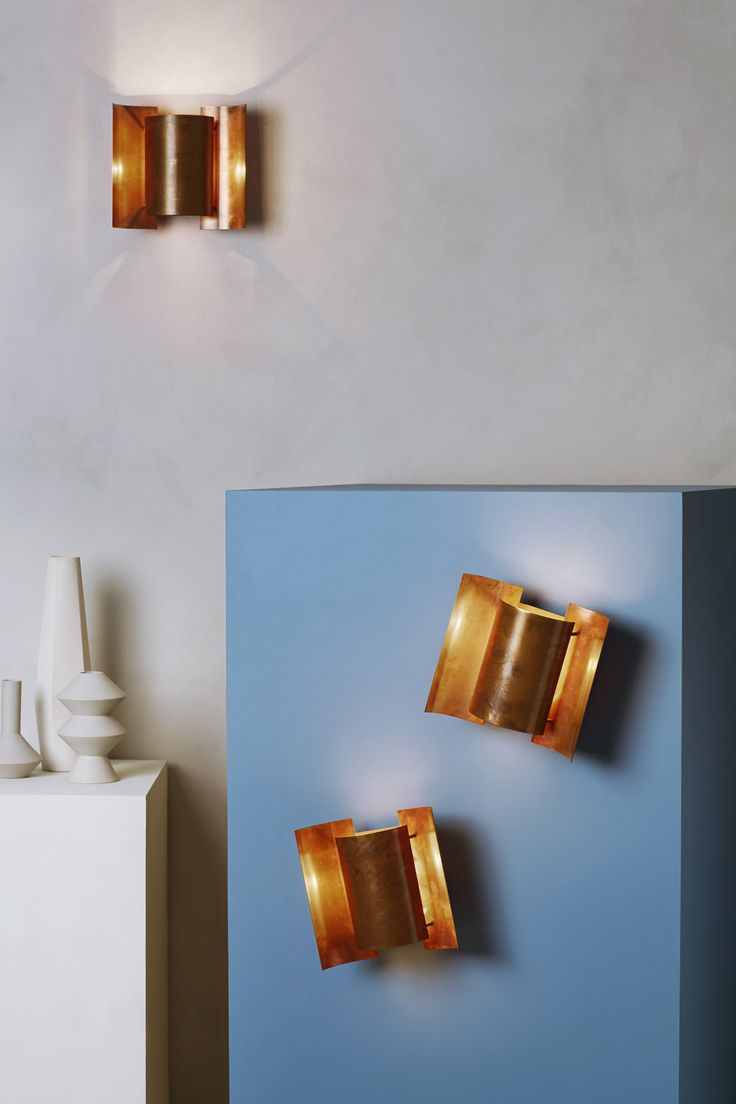 Butterfly is a small wall lamp designed in 1964 for Høvik Lys and later produced by Arnold Vik, Norway.