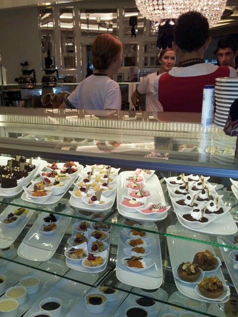 cakes @ Hotel Delphin Imperial, Turkey