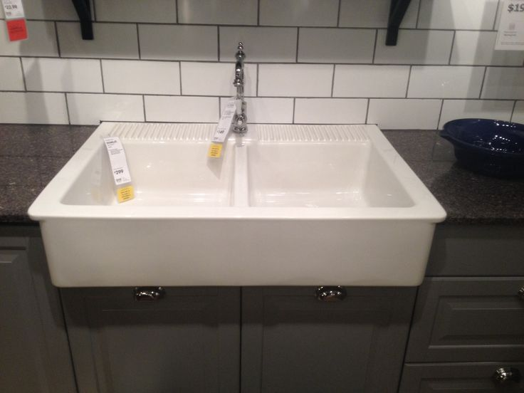 Farm kitchen sink from ikea  Kitchens  Pinterest