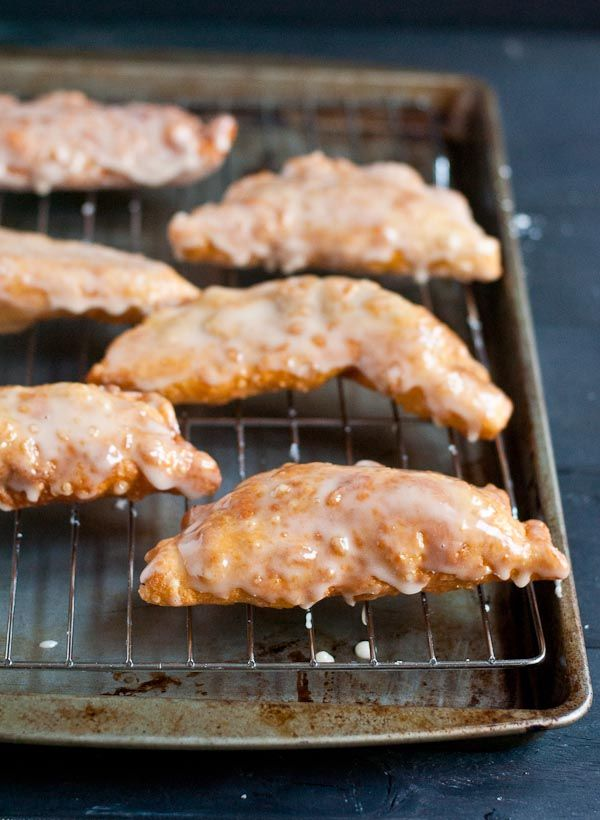 Glazed Amish Apple Fried Pies are the perfect fall dessert.