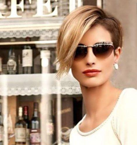 Sofisticato Taglio capelli corti donna 2016