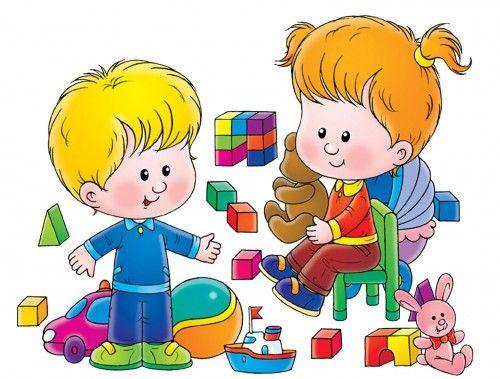 картинки дети играют в кубики5