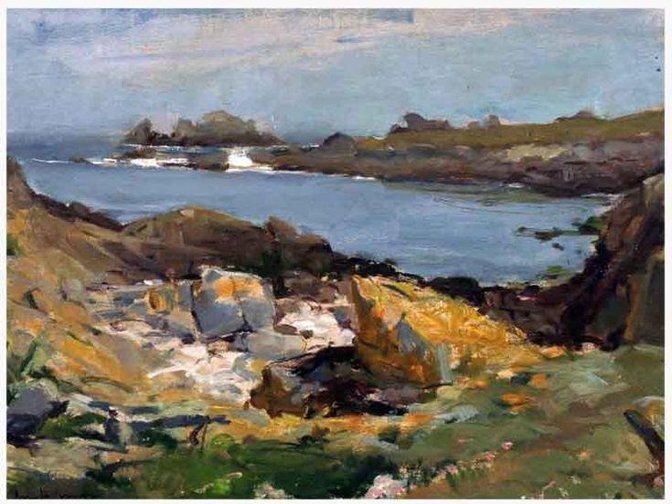 Concarneau et ses Peintres-peintres Français - Doigneau Edouard