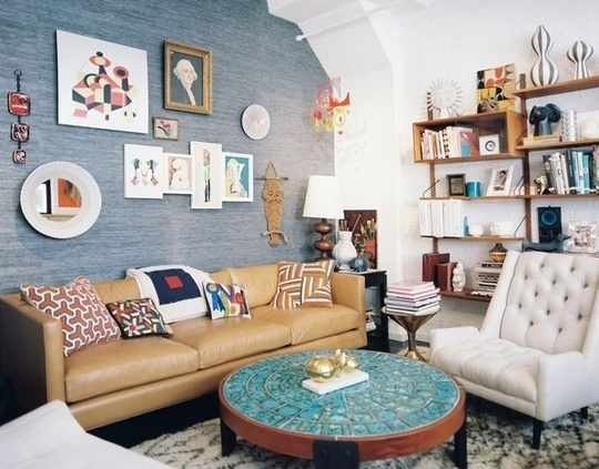 Eclectic Collector look