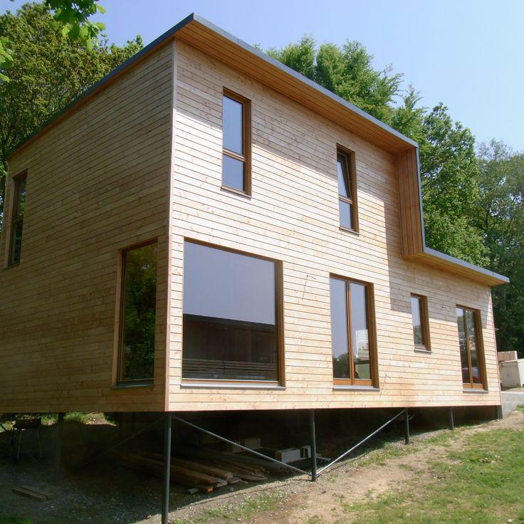 7 best Maison bois images on Pinterest Architecture design - Maison En Bois Sur Pilotis