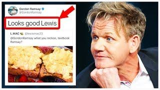 10 Times Gordon Ramsay Actually LIKED THE FOOD!