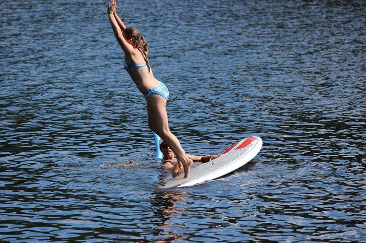 #SUP adventure, just jump!