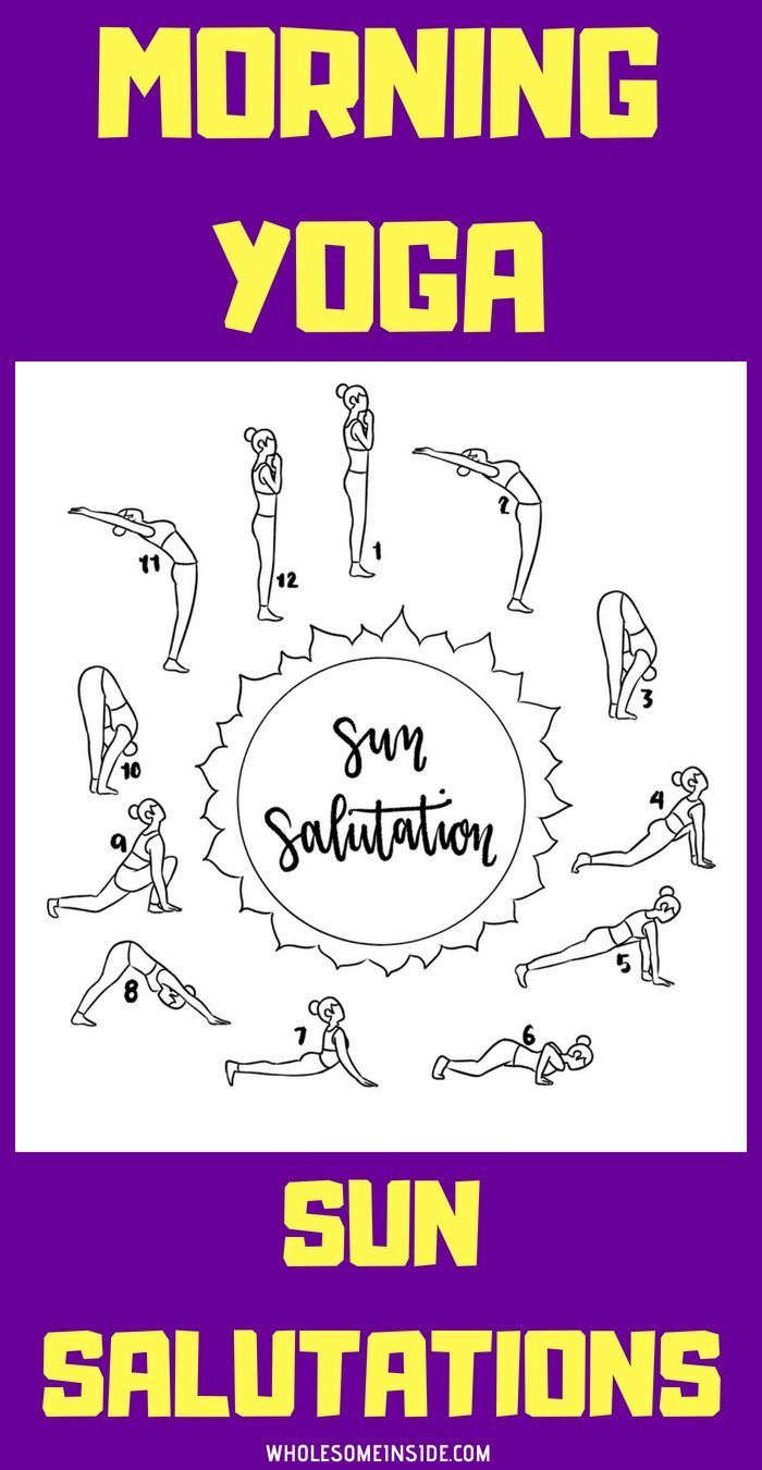 This Amazing Morning Sun Salutation Yoga Only Takes 10 Minutes And Is Perfect If You New To Yoga Yoga For Beginn Morning Yoga Yoga For Beginners Types Of Yoga