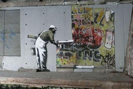 2) Banksy (1999)