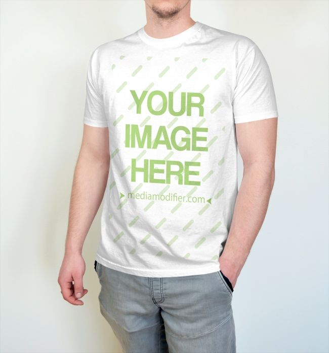 Download An Online T Shirt Mockup Generator With A Young Male Model If You Want To Promote Your Shirt Design With This Mocku Clothing Mockup Shirt Designs Shirt Mockup