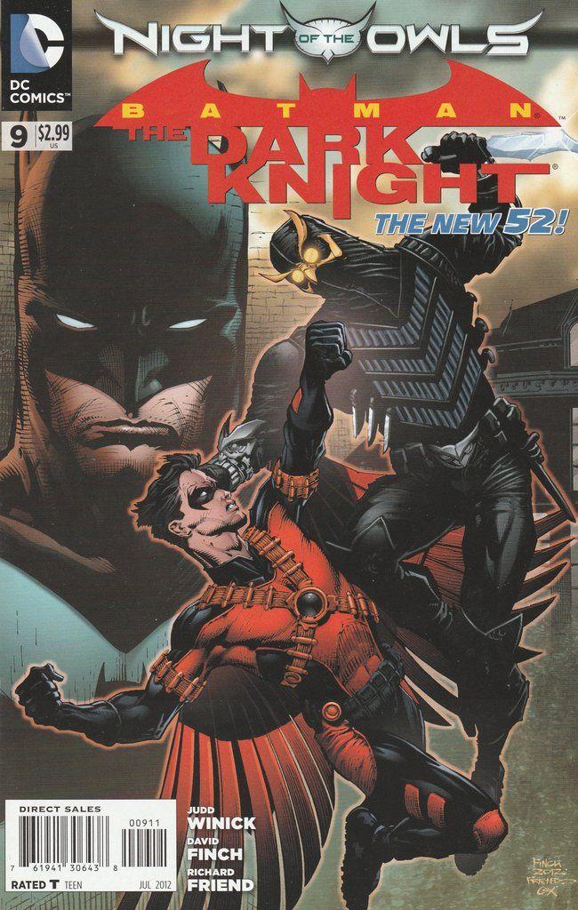 Batman: The Dark Knight # 9 DC Comics The New 52!