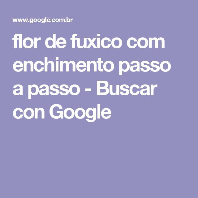 flor de fuxico com enchimento passo a passo - Buscar con Google