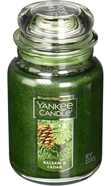 Yankee Candle Company Balsam & Cedar Large Jar Candle