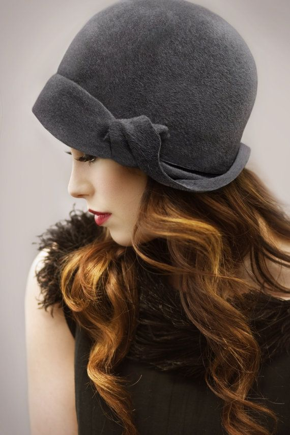 One of our classics! Adrienne is a twist cloche hat, the design has been updated for 2016 and all new orders will receive the latest version as