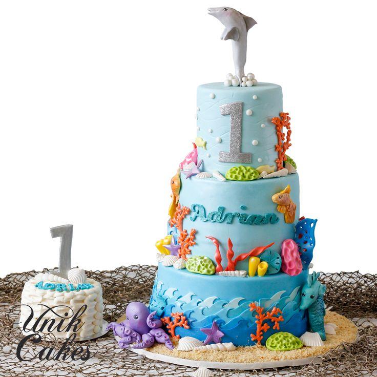 31 best 1st Birthday images on Pinterest Custom cake Dessert