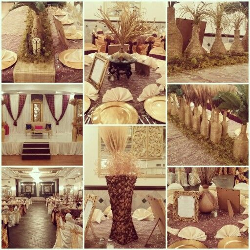 Traditional Igbo wedding decor by Event on A Cent