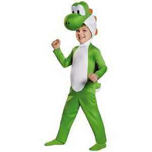Yoshi Costume Mario Brothers Halloween Fancy Dress  $32.69  $57.09  (133 Available) End Date: Nov 012016 07:59 AM GMT-07:00