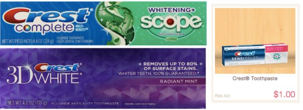 FREE Crest Toothpaste + OVERAGE At Rite Aid (Starting 6/28)!