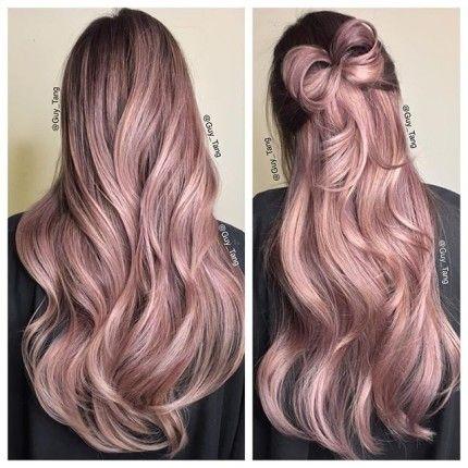 Capelli al top quest\'estate con il pink champagne #capelli #hair #makeup #beauty #pinkchampgnehair #haircolor