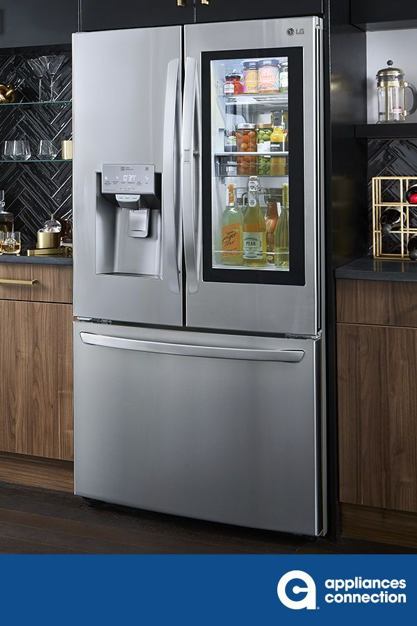 This French Door Refrigerator By Lg Comes With 29 7 Cu Ft Total