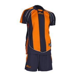 Футбольная форма ROYAL RAVING (оранж/т-син)