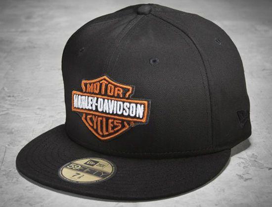 Bar   Shield 59Fifty Fitted Baseball Cap By HARLEY-DAVIDSON x NEW ERA  3ae298f3e248