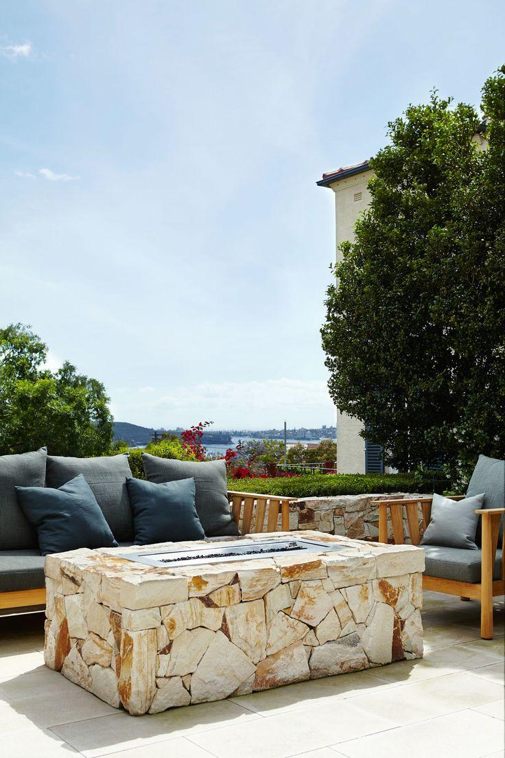 Sandstone outdoor gas heater - Outdoor Establishments
