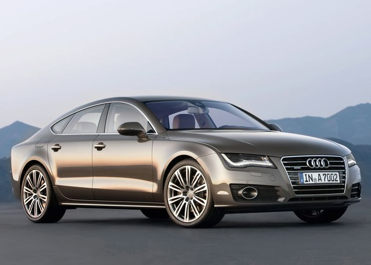 The Audi A7 is Audi's new model. This sedan shares its platform with Audi's A8, but has a much more agressive and sports car-like design.    oh la la