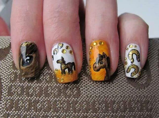 18 best horse nail art images on Pinterest | Horse nail art, Horse ...