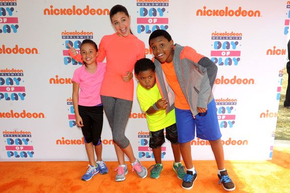 Amber Montana - Nickelodeon 10th Annual Worldwide Day of Play - Orange Carpet