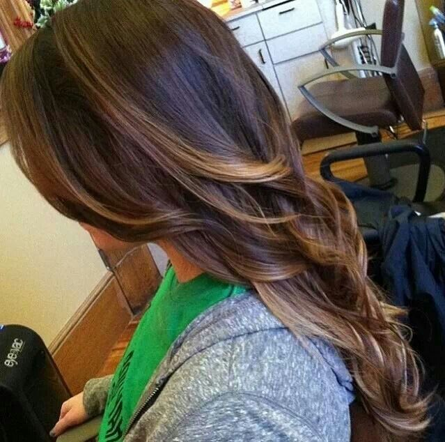 ... Brunettes Hair Colors, Things Beautiful, Bayalage Highlights Brunettes