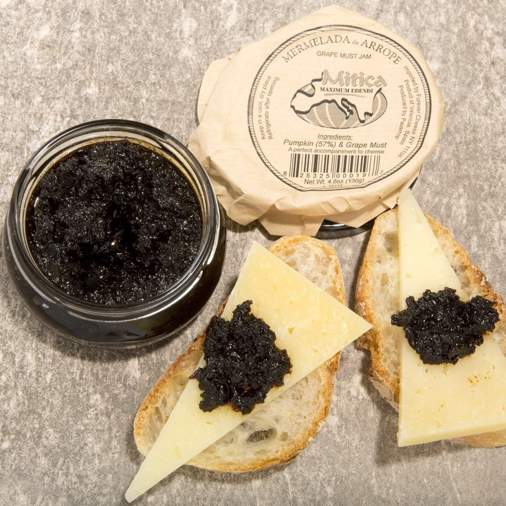 Grape Must Jam---a must with Queso Mahones from Menorca