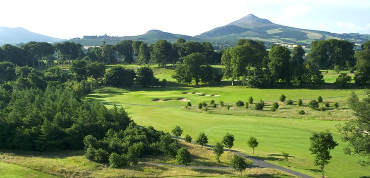 Powerscourt estate has been owned by the Slazenger family since 1961. It is renowned for its magnificent gardens and the highest waterfall in Ireland. In the early 90's an 18 hole championship course within the 1000 acre estate was conceived. www.powerscourt.ie