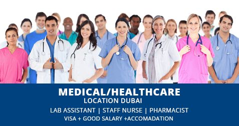 Looking for Medical & Healthcare jobs in UAE?..Hospital Jobs, Medical Service Jobs in UAE, Staff Nurse, Lab Assistant...Other jobs for jobsongulf.com
