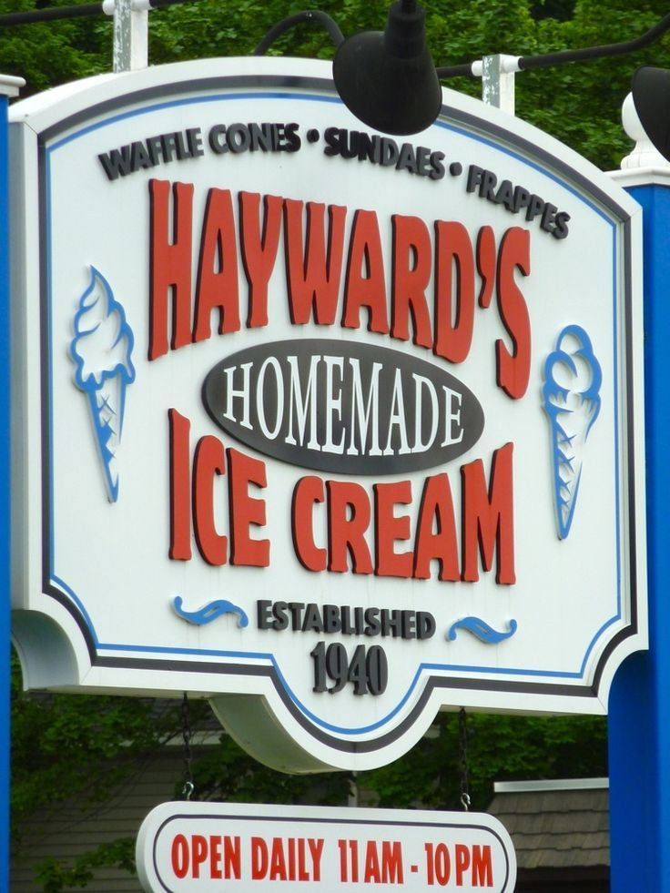 Why Hayward S Ice Cream In Nashua N H Is One Of The Best Ice Cream Stands In New England Ice Cream Stand New England Best Ice Cream