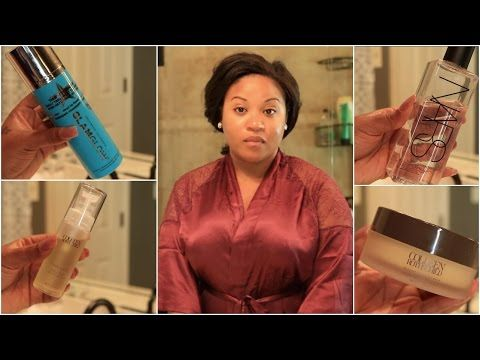 Get Unready With Me | Current Skin Care Routine - NitraaB - YouTube