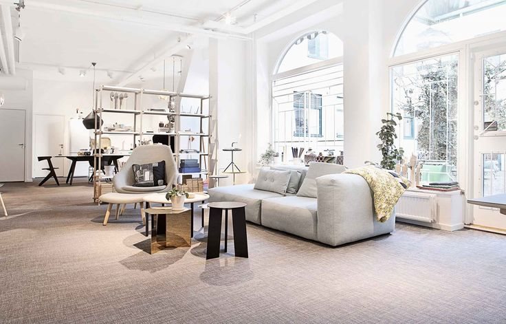 Bolon flooring in Gulled Agenturer in Gothenburg, Sweden